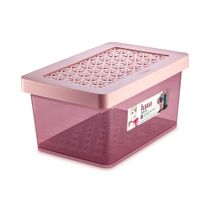 Organizador-Plastico-Multiuso-Medio-Alto-Rose-85L-Hana-Ordene-still
