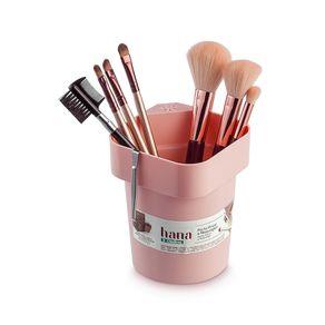 Porta-Pincel-de-Maquiagem-Plastico-Rose-Hana-Ordene-ambientada