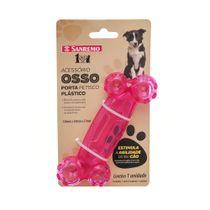 Brinquedo-Dispenser-para-Racao-ou-Petisco-Osso-para-Pet-Rosa-Pet-Sanremo-still