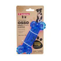Brinquedo-Dispenser-para-Racao-ou-Petisco-Osso-para-Pet-Azul-Pet-Sanremo-still