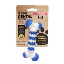 Brinquedo-Osso-Dental-para-Pet-Plastico-Azul-Pet-Sanremo-still