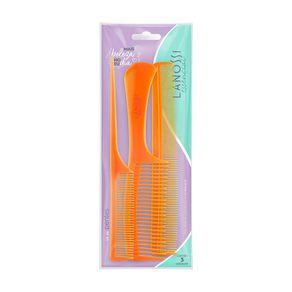 Kit-de-Pentes-Duplo-com-Cabo-Fino-e-Longo-Laranja-Essencial-Lanossi-3-Unidades-embalagem