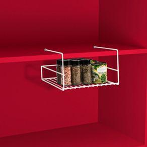 Organizador-Metalico-Aramado-para-Prateleiras-Branco-25x29x15cm-Utti-Ordene-ambientada