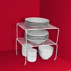 Organizador-Metalico-Aramado-Retangular-Pequeno-Branco-Utti-Ordene-ambientada