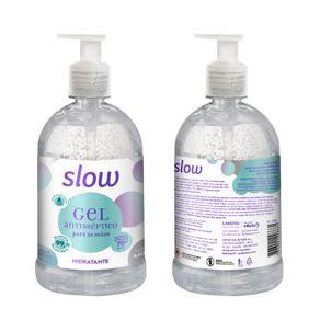 Alcool-em-Gel-Antisseptico-Hidratante-Neutro-500ml-Slow-Lanossi-embalagem